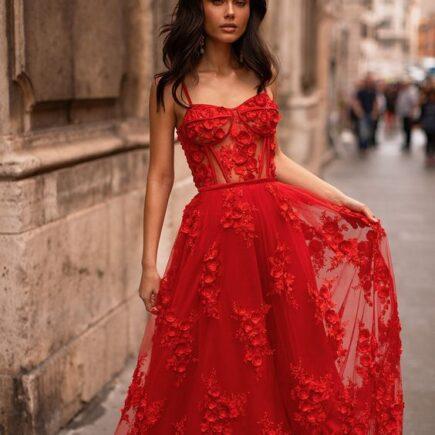 áo cưới đỏ